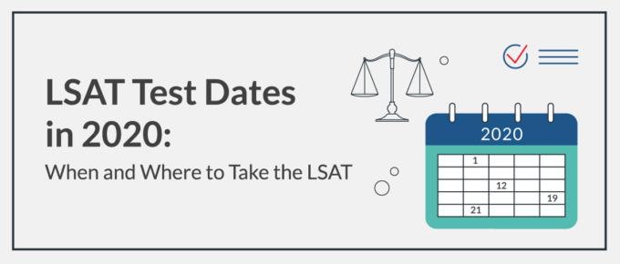 LSAT Test Dates in 2020
