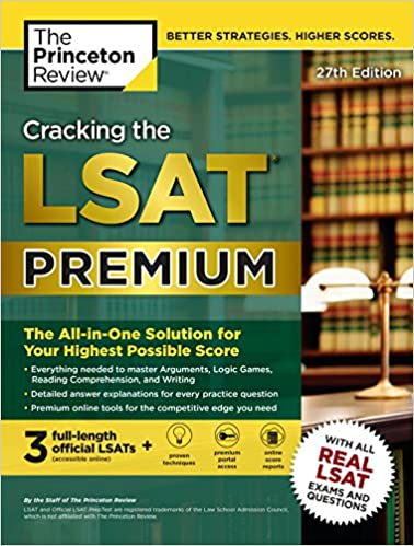 The Princeton Review: Cracking the LSAT Premium