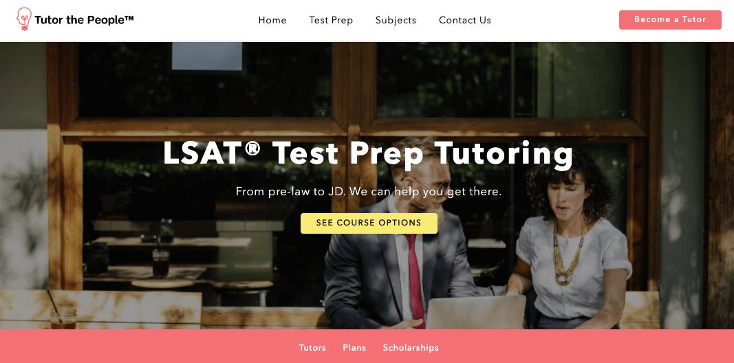 tutor the people LSAT Test Prep
